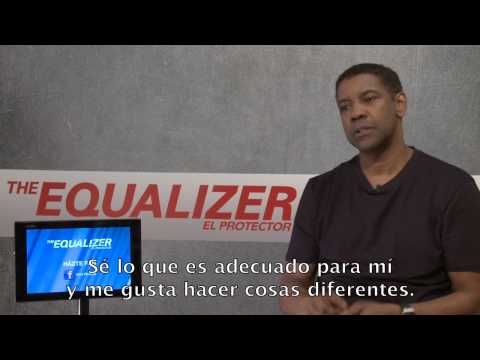 THE EQUALIZER: El Protector. Entrevista Denzel Washington. Ya en Cines.