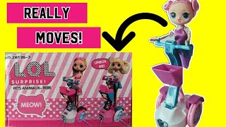 LOL Surprise Doll Really Moves and Sings! DIY Custom LOL Surprise Doll