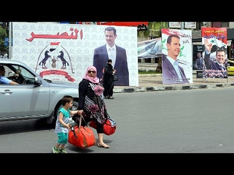 Syria goes to the polls in 'farcical' presidential election