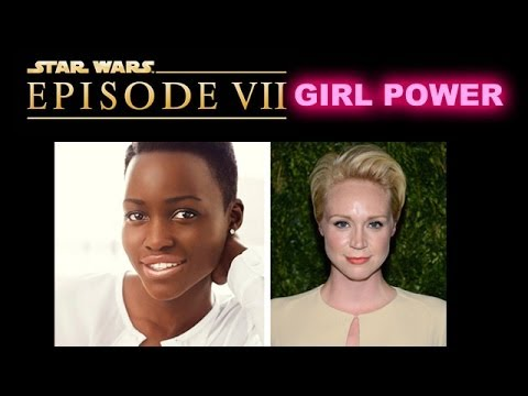 Star Wars Episode 7 casts Lupita Nyong'o and Gwendoline Christie Today - Beyond The Trailer