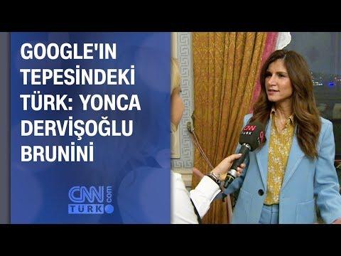Google'ın tepesindeki Türk: Yonca Dervişoğlu Brunini