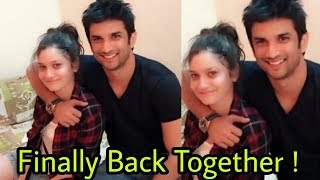 Omg !Finally Ankita Lokhande and Sushant Singh Rajput are back together ! Good news