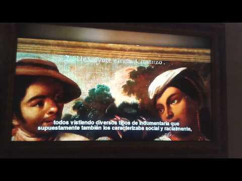 Castas en Mexico. Museo de Historia de Monterrey
