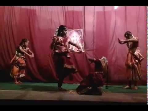 Aigiri Nandini (mahishasura mardini) dance by children