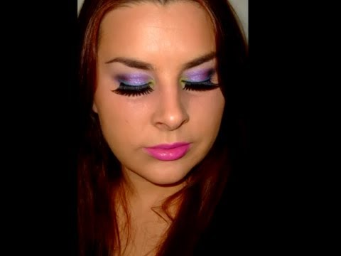 80's Rock Chick Make Up Look