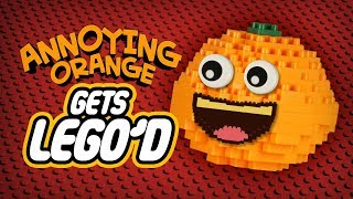 Annoying Orange Gets LEGO