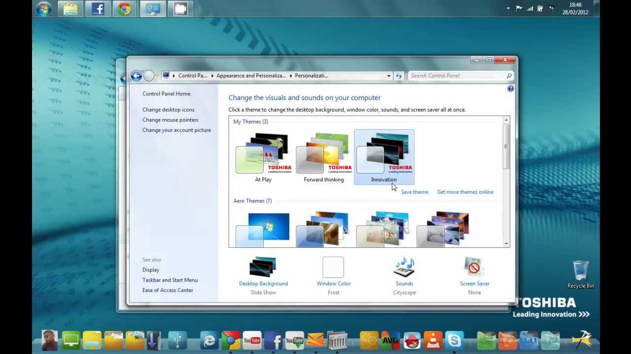 Windows 7 Starter Easy Way to Change Wallpaper 5 Steps