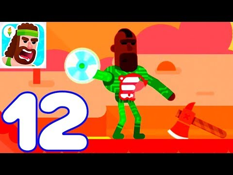 Bowmasters - Gameplay Walkthrough Part 12 - 3 New Characters (iOS) KIDS PLAY