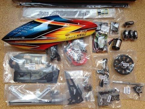 T-Rex 550E DFC Build