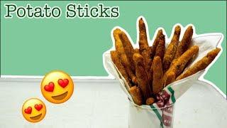 बची हुई सब्जी से बनाये मजेदार स्नैक्स | Potato Sticks With Leftover Aloo Ki Sabzi