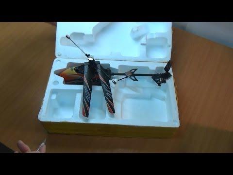 WLtoys V912. распаковка и запуск