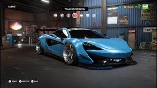 Need for Speed™ Payback_Widebody Liberty Walk Drift McLaren 570s Customization preview