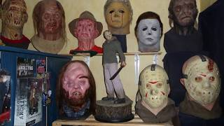 Diaporama Room tour summer 2017 jason freddy myers leatherface zombie