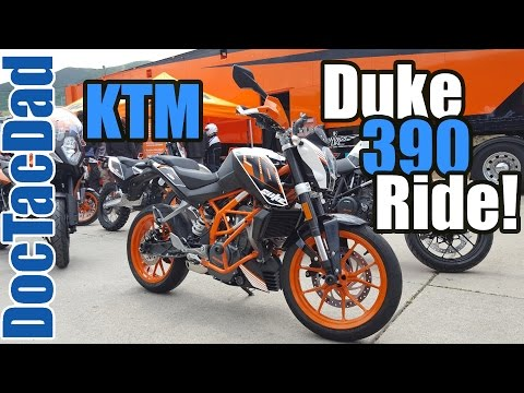 KTM 390 Duke - Demo Review