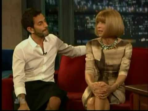 Marc Jacobs & Anna Wintour on Late Night with Jimmy Fallon