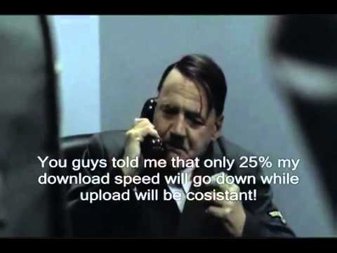 Hitler calls globe telecom about internet connection