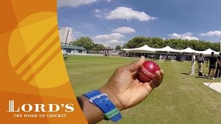 GoPro bowling - Tino Best vs Tamim Iqbal in the Lord's nets | Access All Areas