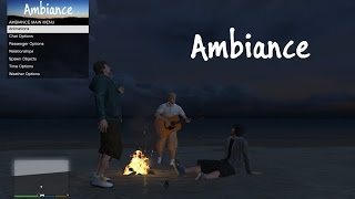 GTA 5 Pc Ambience Mod Menu !