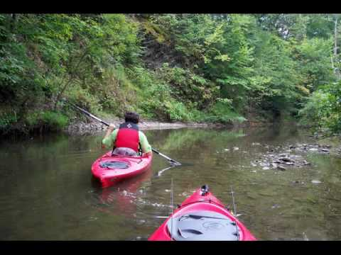 2009 Kayak Bass Fishing in Pennsylvania