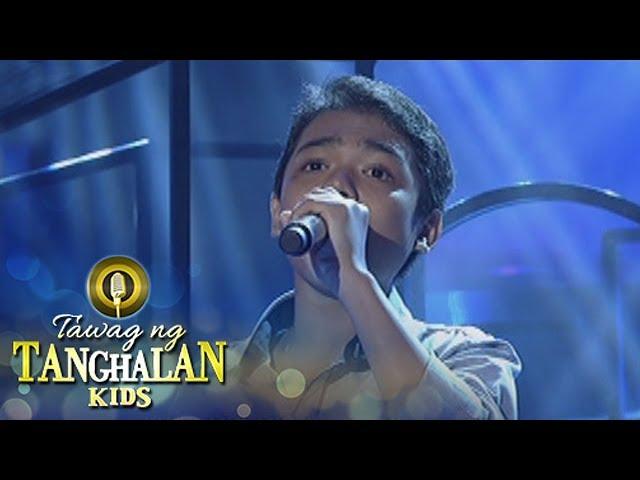 Tawag ng Tanghalan Kids: John Ramirez | Lupa