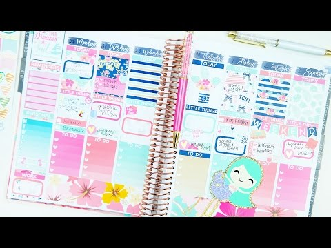 Plan with Me ♥ Q&A + Collab with the Planner Sophisticate | New Erin Condren!