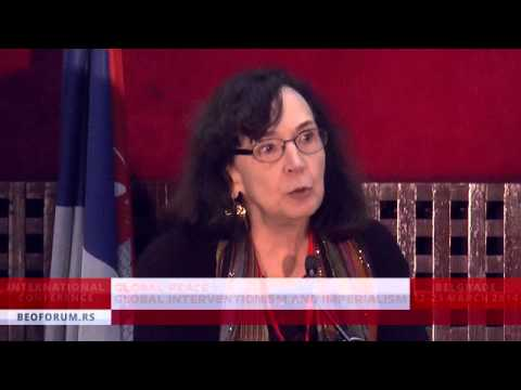 DIANA JOHNSTONE (FRANCE) - (Global Peace vs. Global Interventionism and Imperialism)