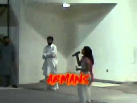 Salma Shah  Angri Mode In Show (fight) video