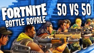 50 VS 50! | FORTNITE Battle Royale