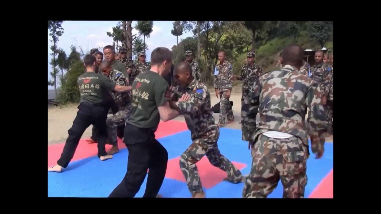 Nepal Army Training Nepal Army Ranger Hand-combat