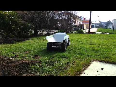 Dumper Test Garten 02.04.16