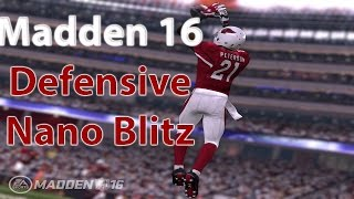 Madden 16: 2/23 BEST POST PATCH UNSTOPPABLE NANO BLITZ! EDGE HEAT & A-GAP NEW MIKE SCRAPE 3 PRESS!