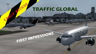 FSX / P3D Early Access First Impressions Review - Just Flight Traffic Global