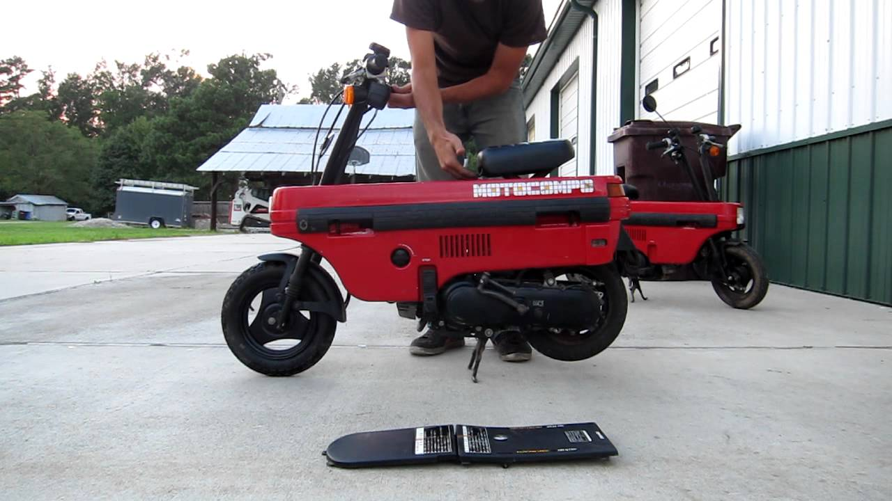 1982 Honda Motocompo - YouTube