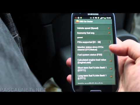 Testing the Mini ELM327 V1.5 OBD2 II Bluetooth Diagnostic Car Auto Interface Scanner HE