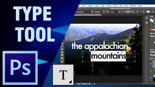 Photoshop Tutorial For Beginners | Learn How To Use Type Tool In Photoshop | Digital Teacher