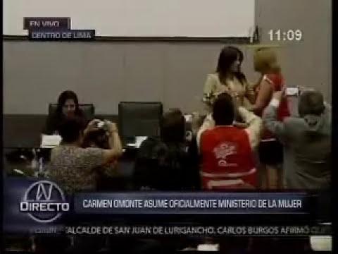 Carmen Omonte asumió el cargo de ministra de la Mujer