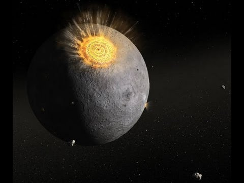 METEORITE CADUTO SULLA LUNA