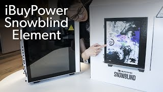 Exploring the iBuyPower Snowblind Element case