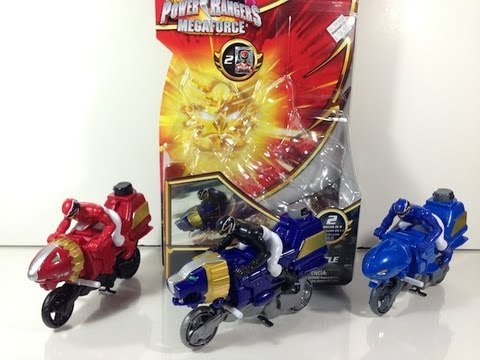 Review: Megaforce Lion Cycles & Ultra Gosei Great Megazord Formation (Power Rangers Megaforce)