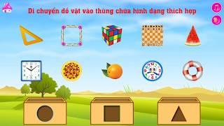 Bé chơi xếp hình, học màu sắc | Play puzzle kitchen tools | BaBy TV