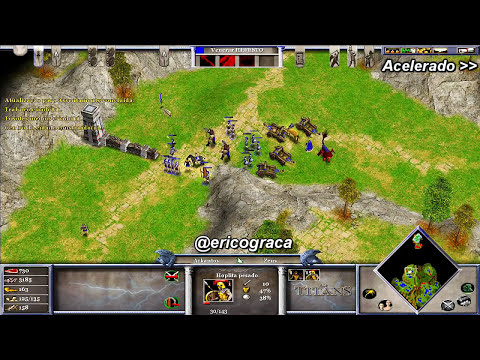 Age of Mythology - The Titans - Campanha AOM (Level 7-8) - Ep.07