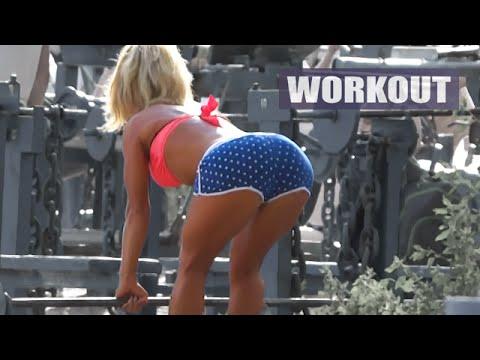 Kiev bodybuilding motivation - outdoor gym / Hot Body