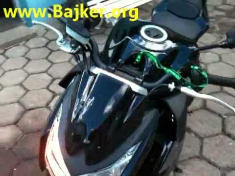 2012 Kawasaki Z1000 черный