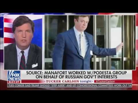 Tucker Carlson Tonight 10/24/17 - Podesta Group scandal