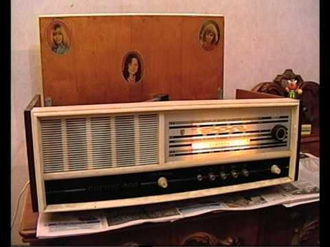 Радиола Сириус 309 / Tube