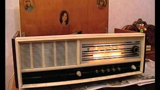 Радиола Сириус 309 / Tube radio Sirius 309