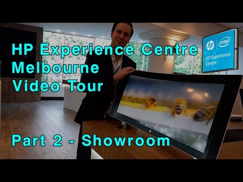 HP Experience Centre Melbourne Tour -Part 2