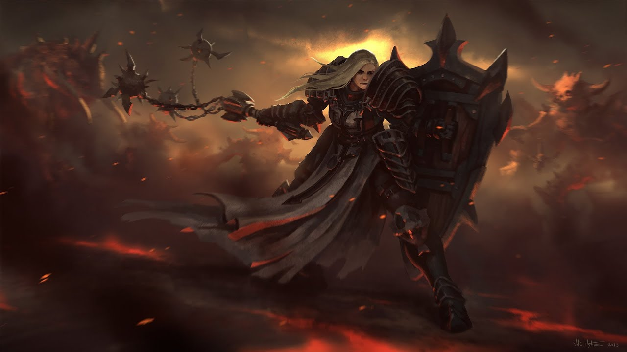 Diablo 3 Crusader Wallpaper 1920x1080 The gallery for -->...