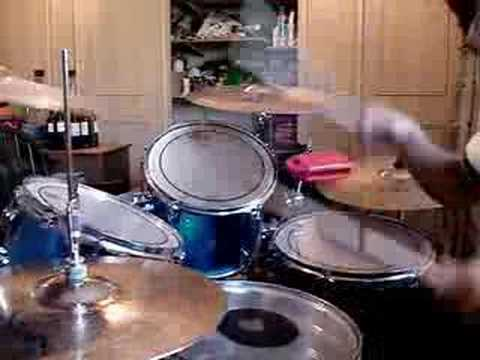 Drumming to Giving Up by Silverstein