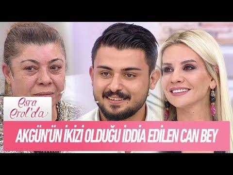 Gülşen Hanım'ın oğlu olduğunu iddia ettiği Can Bey..- Esra Erol'da 7 Aralık 2017